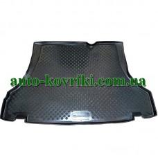 Коврик в багажник Daewoo Lanos sedan (ПВД Автоформа)