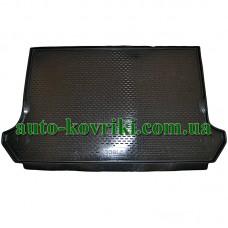 Коврик в багажник Fiat Doblo paseng-пассажир 2001- (ПВД Автоформа)
