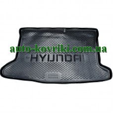 Коврик в багажник Hyundai Solaris h/b 2010- (ПВД Автоформа)