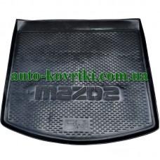 Коврик в багажник Mazda CX-5 2012 (ПВД Автоформа)