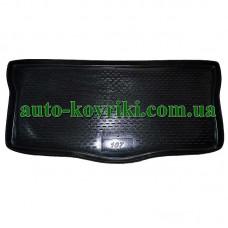 Коврик в багажник Peugeot 107 (ПВД Автоформа)