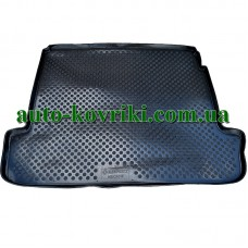 Коврик в багажник Renault Megane II sed 2003- (ПВД Автоформа)