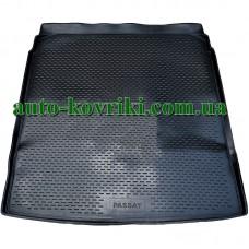 Коврик в багажник Volkswagen Passat B7 2011- (седан) (ПВД Автоформа)