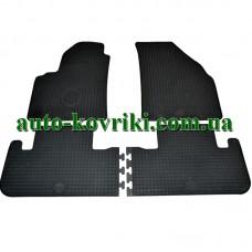 Резиновые коврики в салон Chevrolet Tacuma / Rezzo 2000-2008 (Doma)