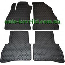 Резиновые коврики в салон Fiat Doblo II 2009- (Doma) 4шт.