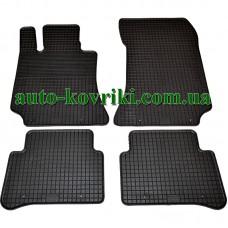 Резиновые коврики в салон Mercedes W212 2009- (Doma)
