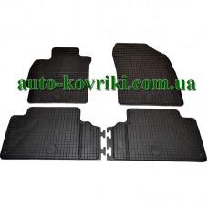 Резиновые коврики в салон Toyota Auris E150 2006-2012 (Doma)