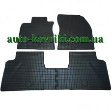 Резиновые коврики в салон Toyota Avensis III 2008- (Doma)