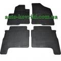 Резиновые коврики в салон Hyundai Santa Fe II 2006-2012 (Doma)