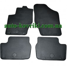 Резиновые коврики в салон Peugeot 308 2007-2013 (Doma)