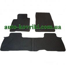 Резиновые коврики в салон Toyota Land Cruiser 200 2007- (Doma)
