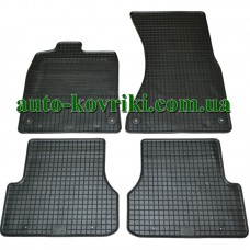 Резиновые коврики в салон Audi А6 (C7) 2011- (Doma)