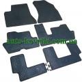 Резиновые коврики в салон Citroen C4 Picasso 2006-2013 (Doma)