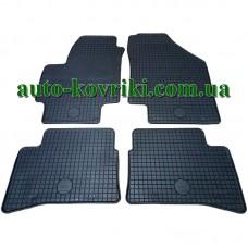 Резиновые коврики в салон Hyundai Accent III 2006-2010 (Doma)
