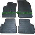 Резиновые коврики в салон Citroen C3 II 2009- (Doma)