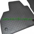 Резиновые коврики в салон Mercedes Citan 2008- (2шт.) (Doma)