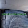 Резиновые коврики в салон Renault Megane II 2002-2008 (Doma)