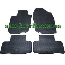 Резиновые коврики в салон Toyota RAV4 2006-2012 (Doma)