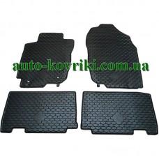 Резиновые коврики в салон Toyota RAV4 2012- (Doma)