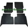 Резиновые коврики в салон Volkswagen Amarok 2010- (Doma)