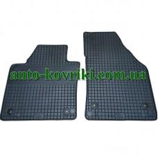 Резиновые коврики в салон Volkswagen Caddy (Typ 2K) 2003- (Doma) 2-передние