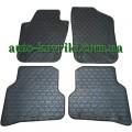 Резиновые коврики в салон Volkswagen Polo V 2009- (Doma)