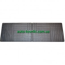 Резиновые коврики универсальные для 2-3 ряда UNI-Back (Doma)