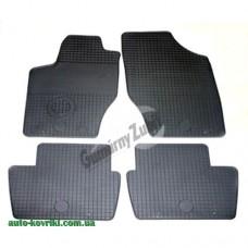 Резиновые коврики в салон Citroen C4 2004-2010 (Doma)