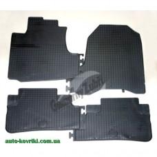 Резиновые коврики в салон Honda CR-V 2007-2012 (Doma)