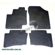 Резиновые коврики в салон Hyundai I20 2008-2014 (Doma)