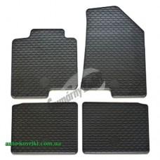 Резиновые коврики в салон Hyundai I40 II 2011- (Doma)