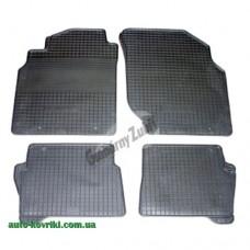 Резиновые коврики в салон Nissan Almera N16 2000-2006 (Doma)