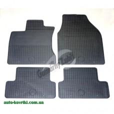 Резиновые коврики в салон Nissan Qashqai 2007-2013 (Doma)