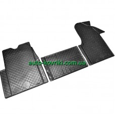 Резиновые коврики в салон Renault Master II 1998-2010, III 2010- (Doma)