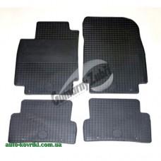 Резиновые коврики в салон Renault Clio 3 2005-2012 (Doma)