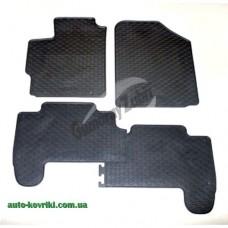 Резиновые коврики в салон Toyota Yaris XP9 2006-2011 (Doma)