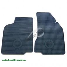 Резиновые коврики в салон Volkswagen Caddy (Typ 9K) 1997-2003 (Doma) 2-передние