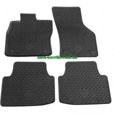 Резиновые коврики в салон Volkswagen Golf VII 2013- (Doma)