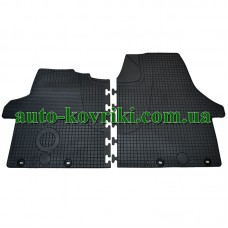 Резиновые коврики в салон Volkswagen Transporter T5 2003- (Doma)