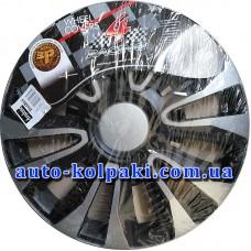 Колпаки колесные ARGO Avalone Silver-Black (R16) (4шт)