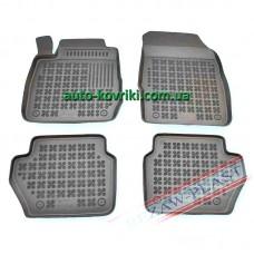 Резиновые коврики в салон Ford Fiesta 2008-2011 (Rezaw-Plast)