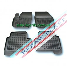 Резиновые коврики в салон Ford Kuga II 2013- (Rezaw-Plast)
