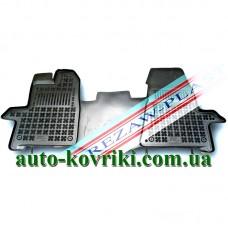 Резиновые коврики в салон Ford Transit Custom 2012- (Rezaw-Plast)