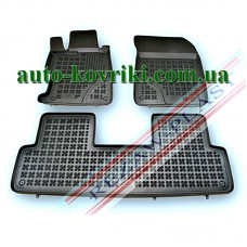 Резиновые коврики в салон Honda Civic 2012- Sedan (Rezaw-Plast)