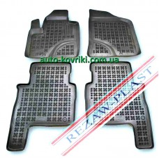 Резиновые коврики в салон Hyundai Santa Fe II 2006-2012 (Rezaw-Plast)