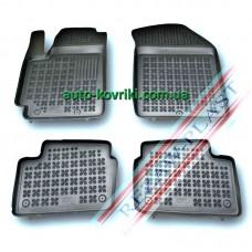 Резиновые коврики в салон Kia Picanto 2011- (Rezaw-Plast)