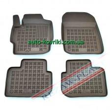 Резиновые коврики в салон Mitsubishi Colt 2008- (3-дверный) (Rezaw-Plast)