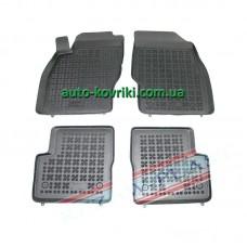 Резиновые коврики в салон Opel Corsa D 2006- (Rezaw-Plast)