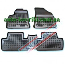 Резиновые коврики в салон Peugeot 3008 2009- (Rezaw-Plast)