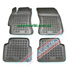 Резиновые коврики в салон Subaru Forester 2007-2012 (Rezaw-Plast)